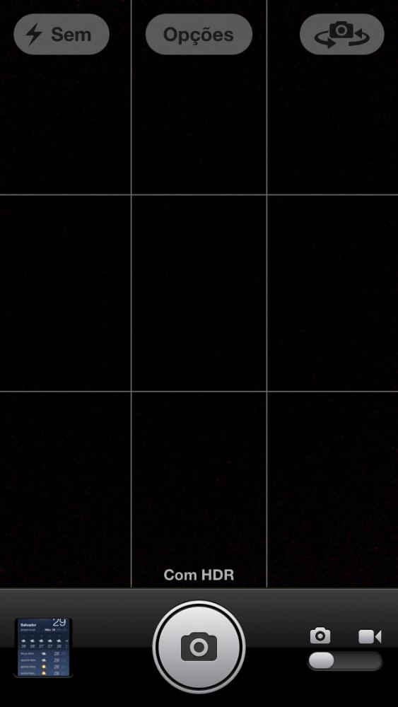 Screenshot do iPhone 5