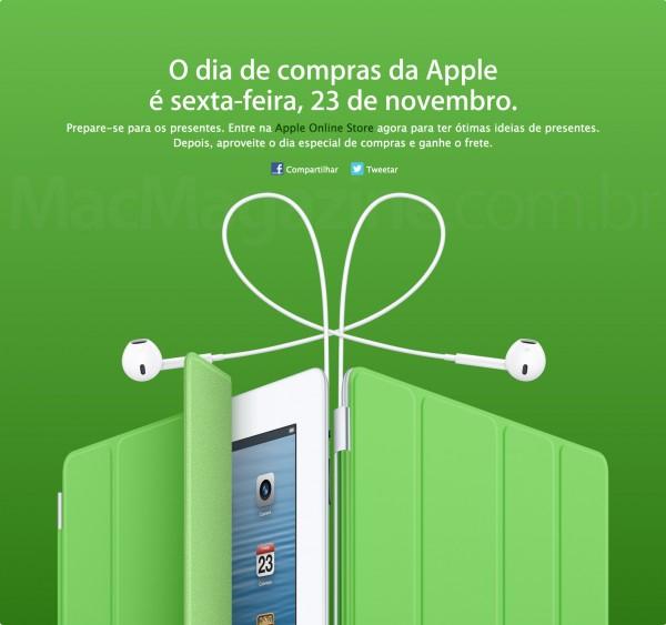 Dia Especial de Compras - Apple Brasil
