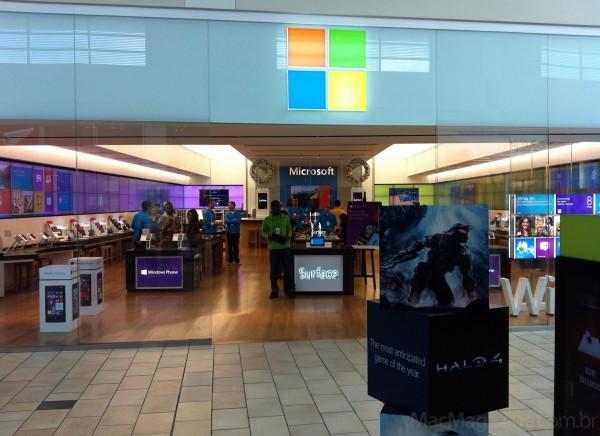 Loja da Microsoft no Florida Mall
