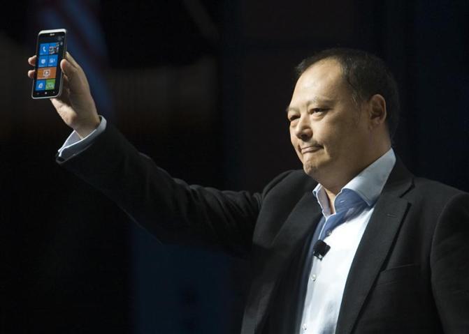 Peter Chou, CEO da HTC