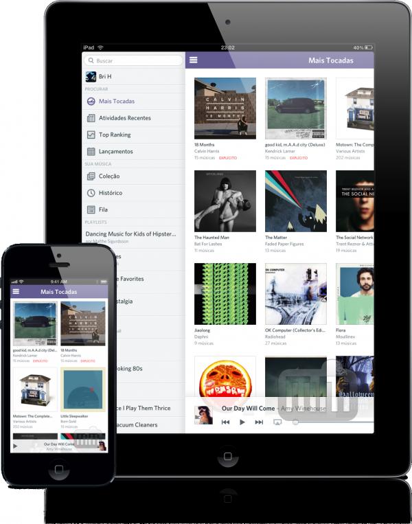 Oi Rdio (iPhone 5 e iPad)