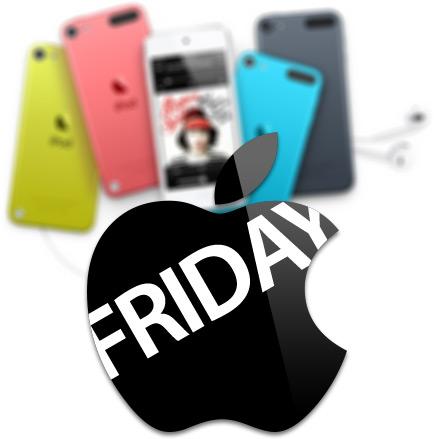 iPods na Black Friday da Apple Brasil