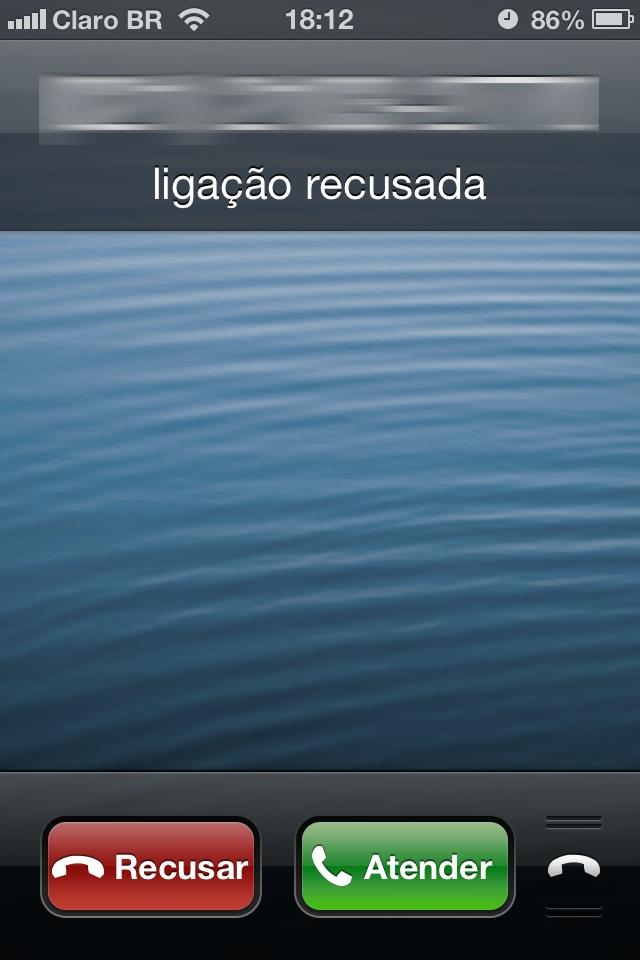 Recurso Ligar Depois no Telefone do iOS 6