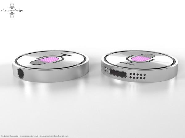 iSiri - conceito de relógio da Siri