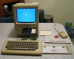 Macintosh com Twiggy