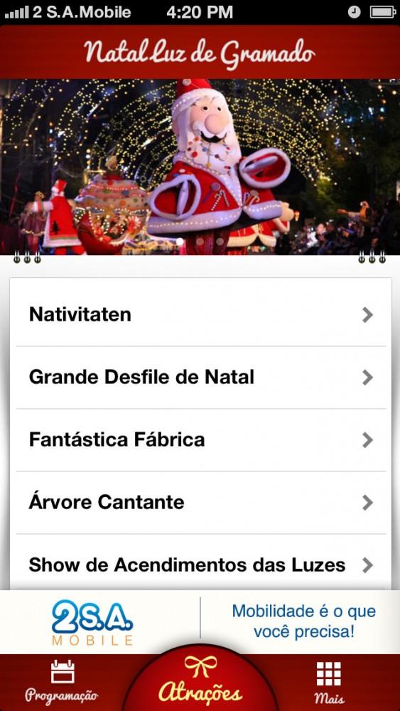 Natal Luz Gramado 2012