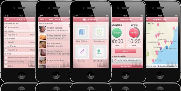 Aleitamento em iPhones