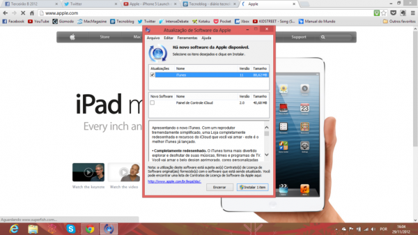iTunes 11 para Windows