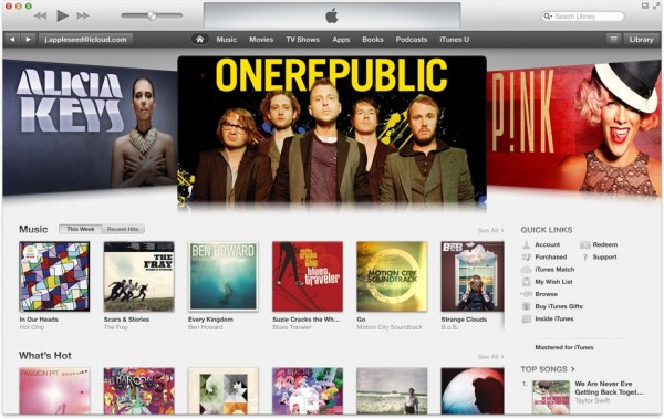 Loja do iTunes