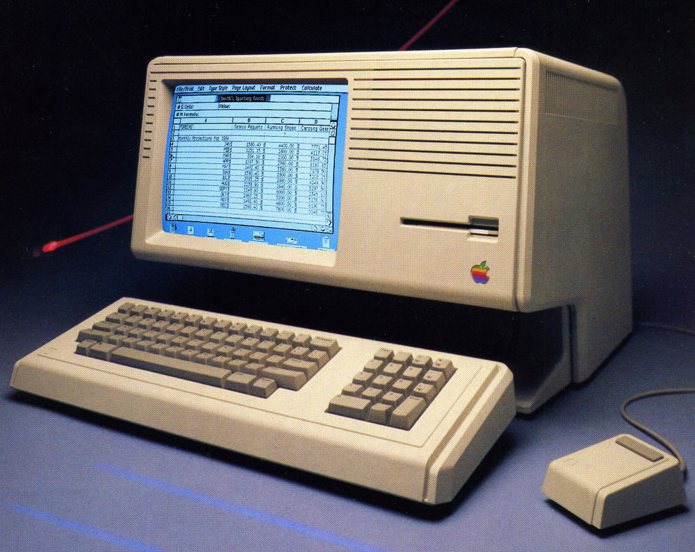 Mouse do Apple Lisa