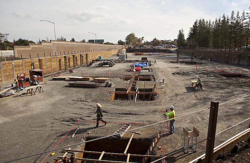 Campus da Apple de Santa Clara em construção
