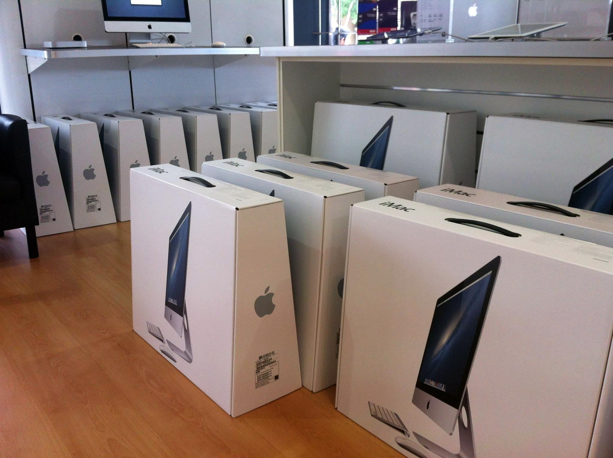 Novos iMacs à venda na Austrália