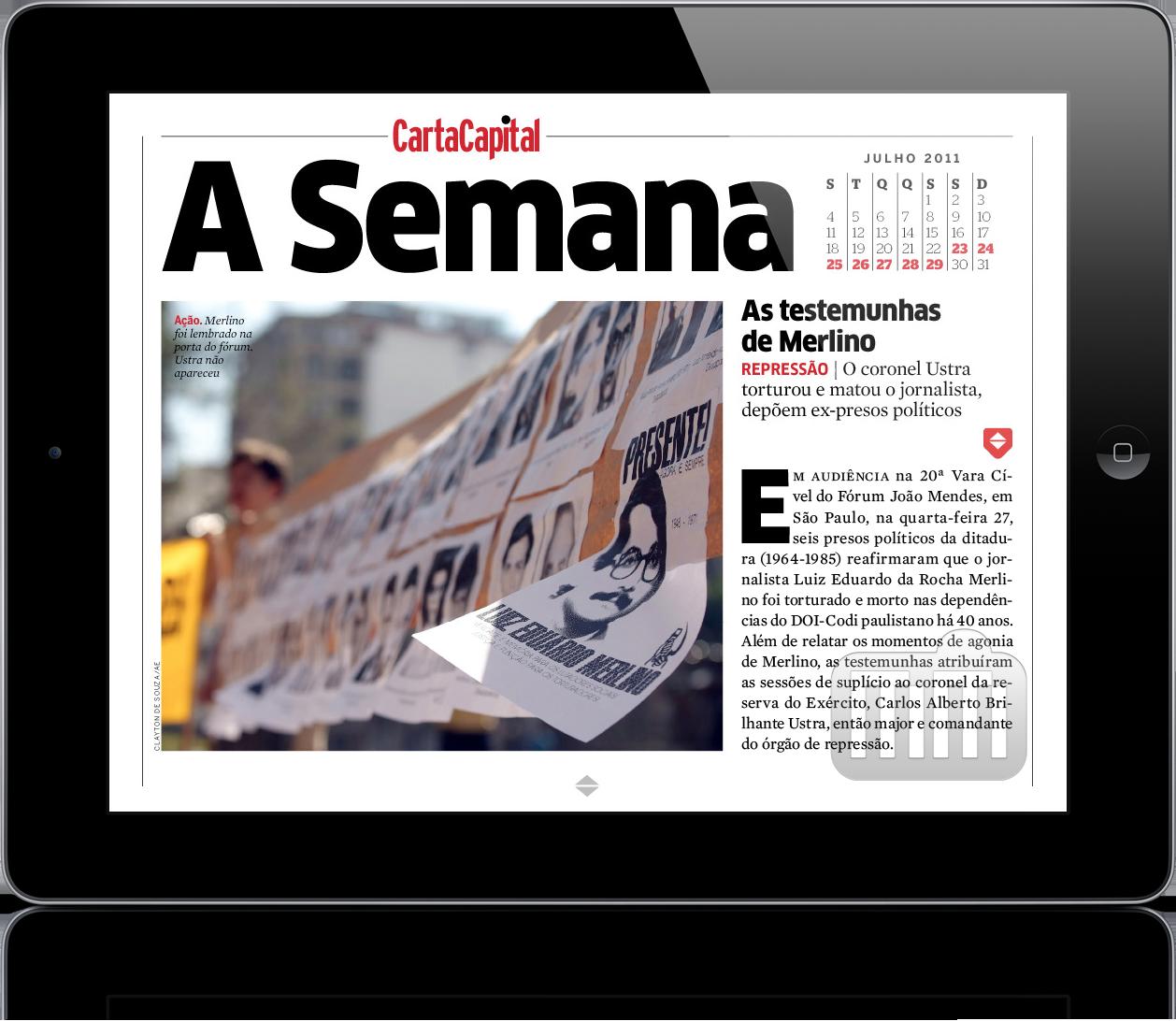 Revista CartaCapital no iPad