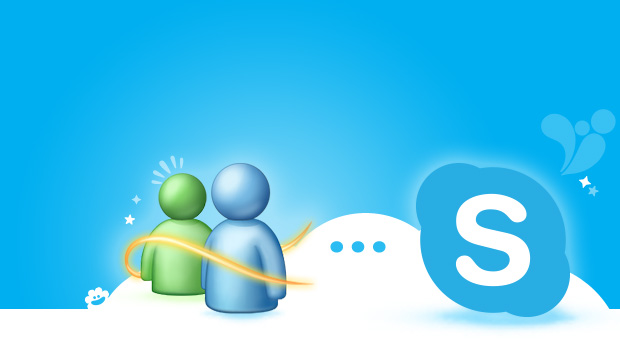 Messenger e Skype