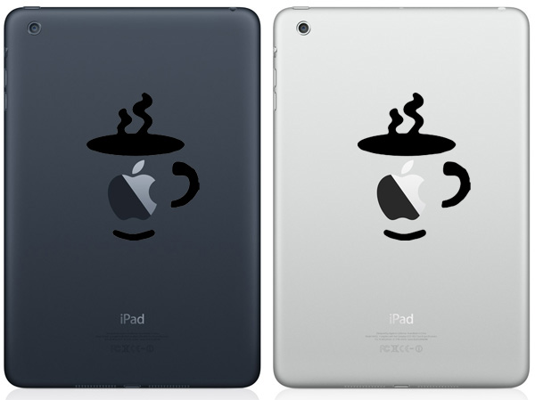 Adesivo para iPad - Café