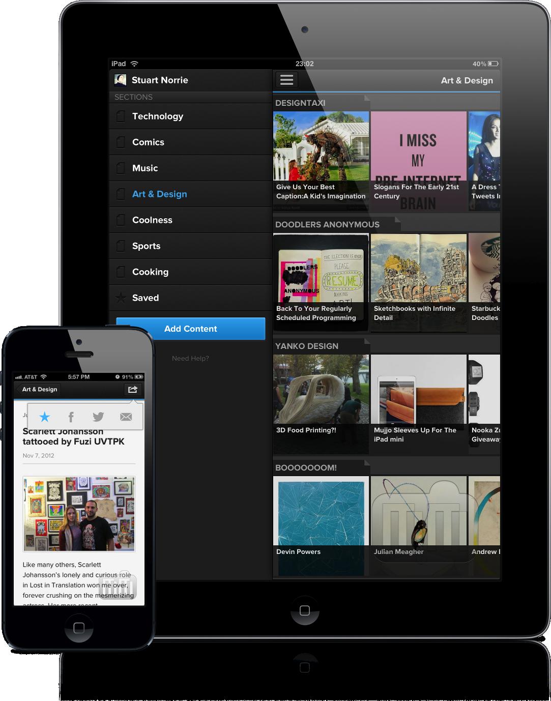 Pulse (iPad e iPhone 5)
