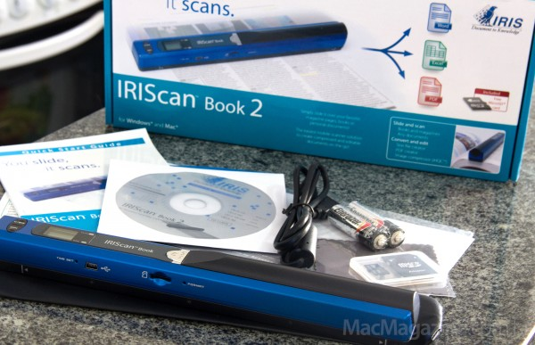 IRIScan Book 2 - by MacMagazine