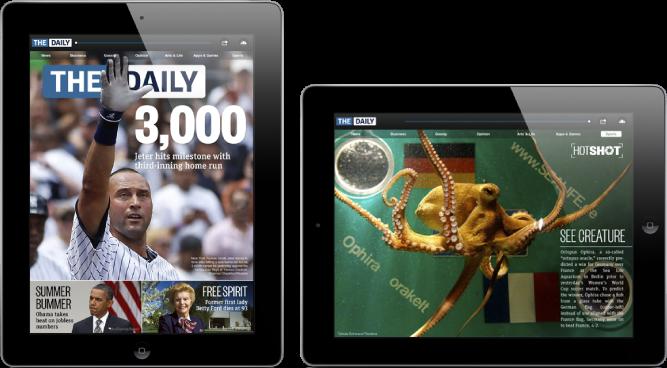 The Daily em iPad