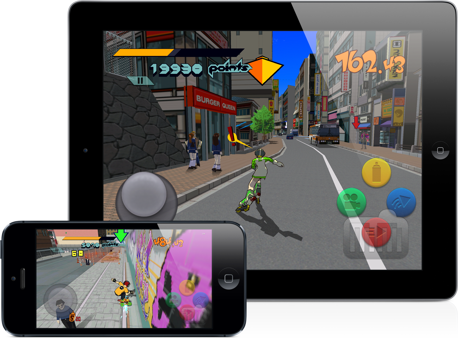 Jet Set Radio - iPad e iPhone