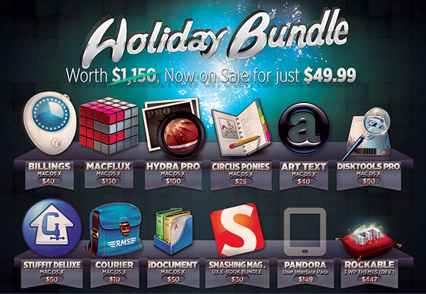 Holiday Bundle do BundleHunt