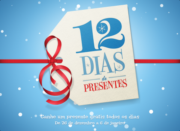 12 dias de presentes de iTunes