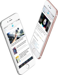 Screenshots do MacMagazine 3.0 em iPhones 6s (app/aplicativo)
