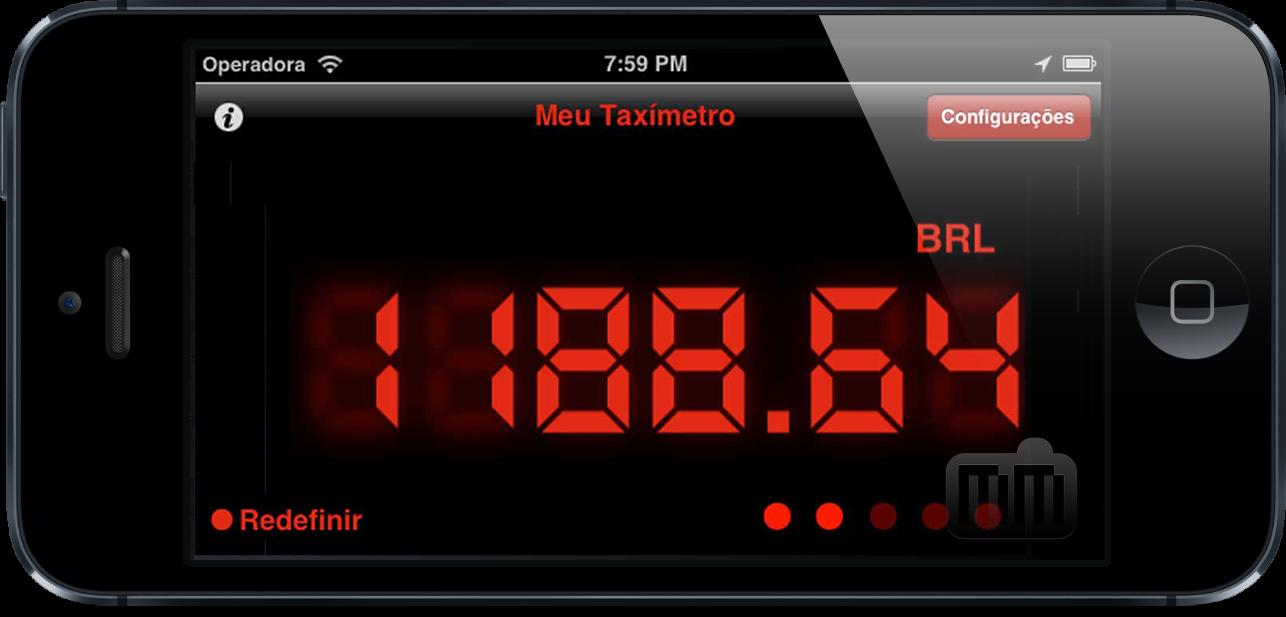 Meu Taxímetro - iPhone