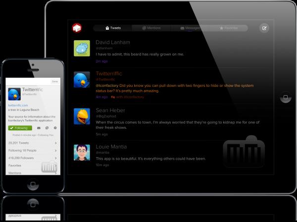 Twitterrific 5 for Twitter - iPad e iPhone