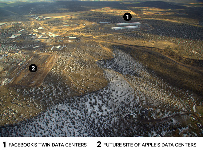 Futuro data center da Apple em Prineville
