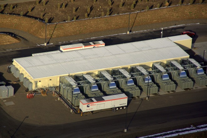 Futuro data center da Apple em Prineville