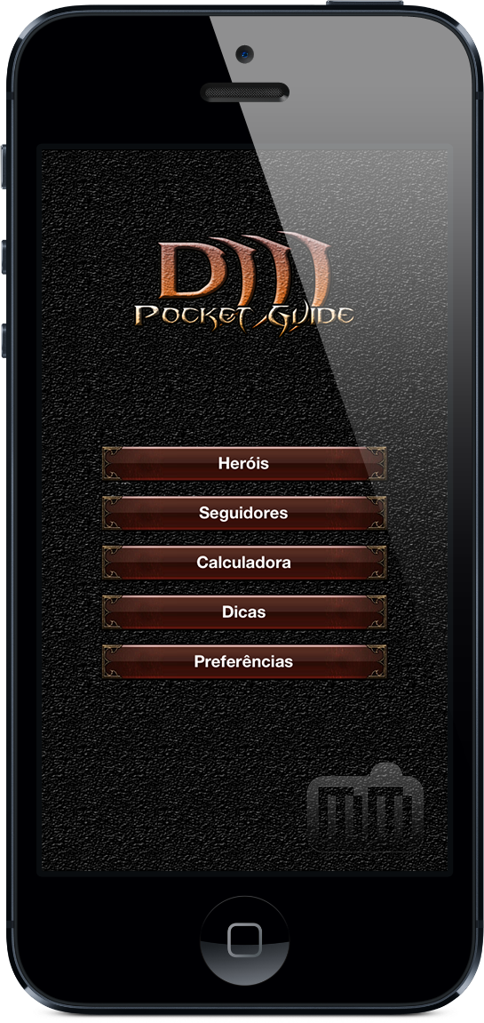 Guia de bolso para Diablo III - iPhone 5