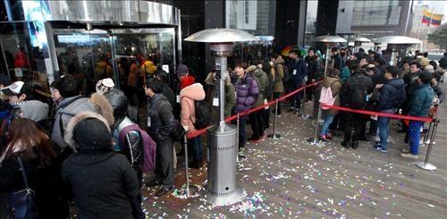 Lançamento do iPhone 5 na Coreia do Sul