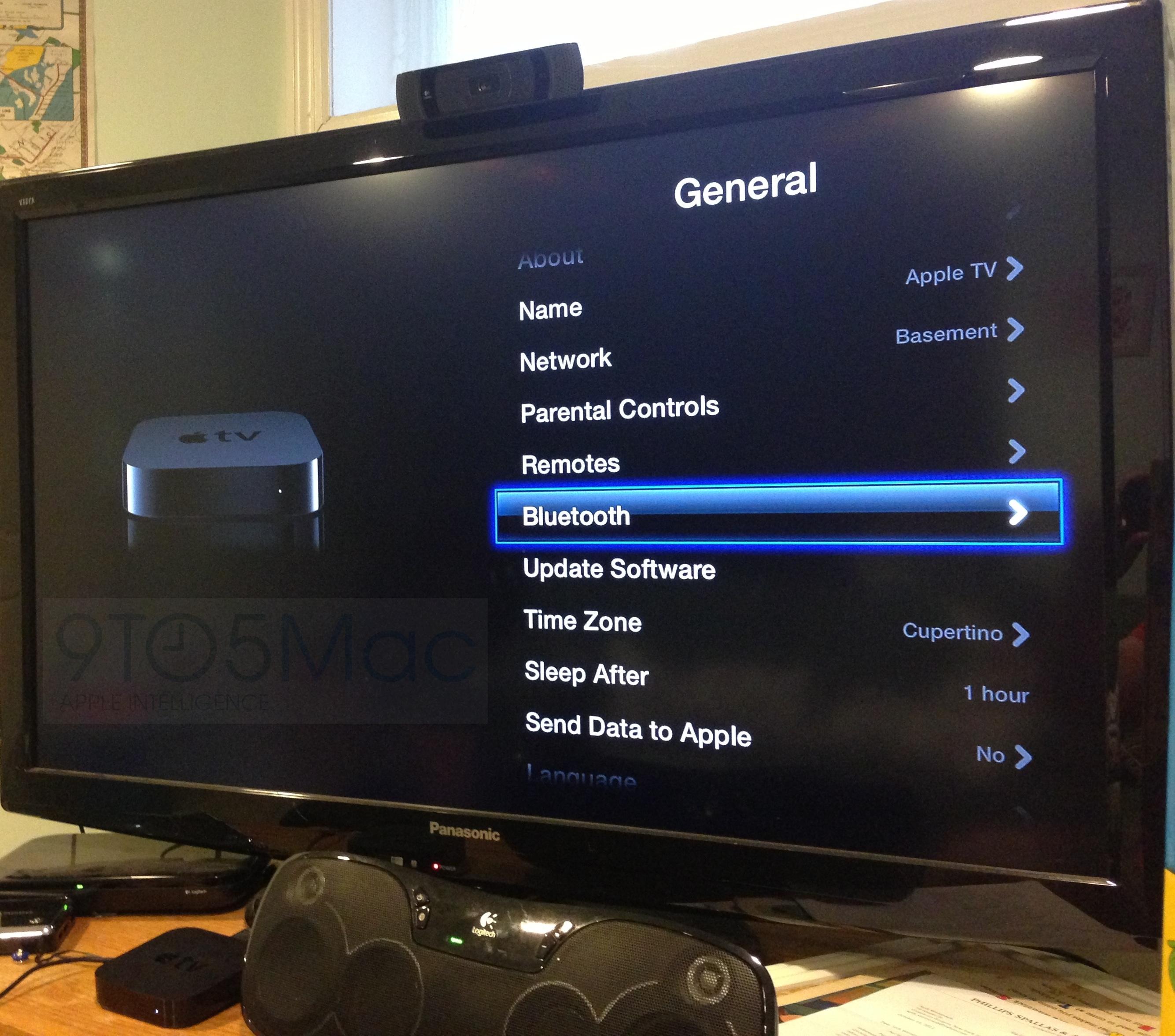 Teclado Bluetooth na Apple TV