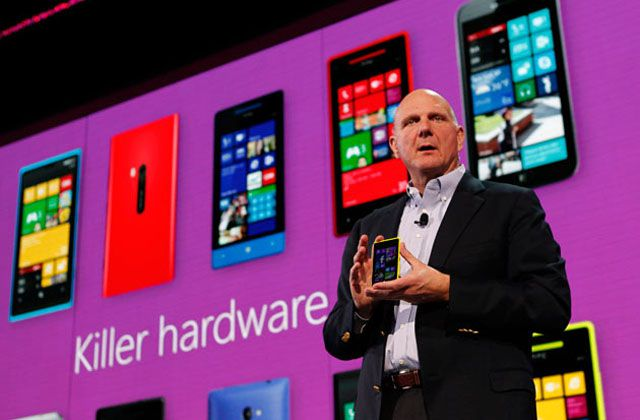 Steve Ballmer com Windows Phone