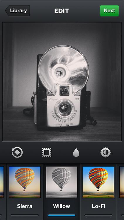 Interface do Instagram 3.2