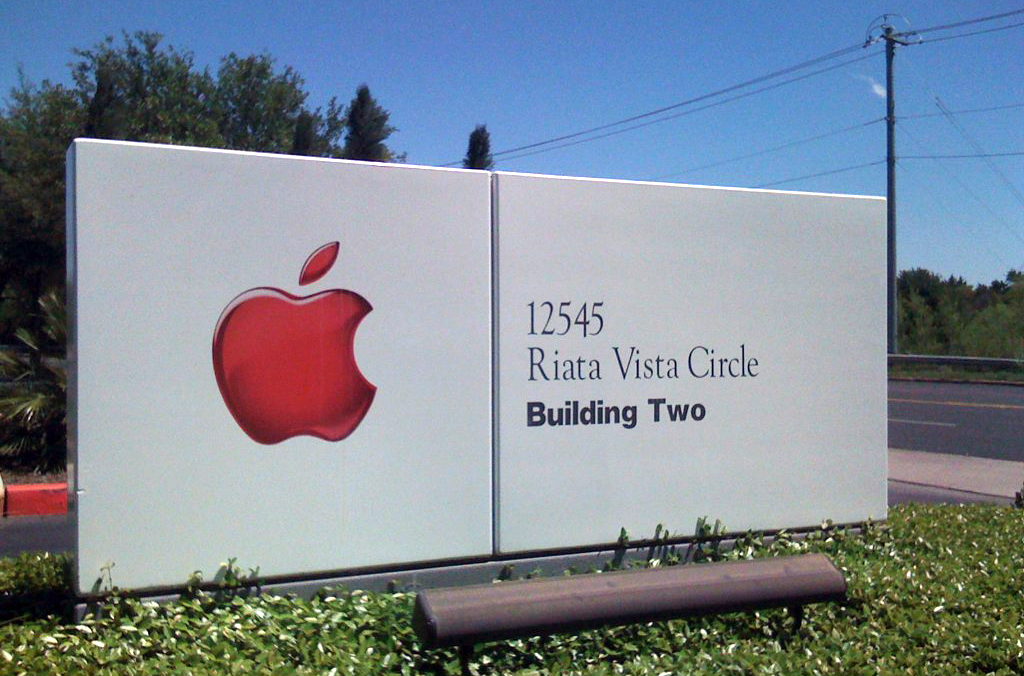 Placa da Apple em Austin