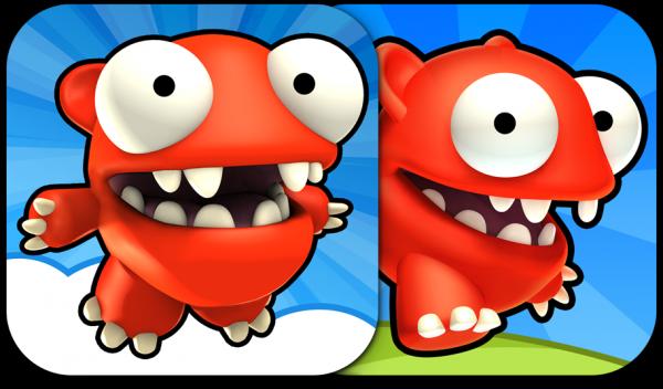 Mega Jump e Mega Run - ícones
