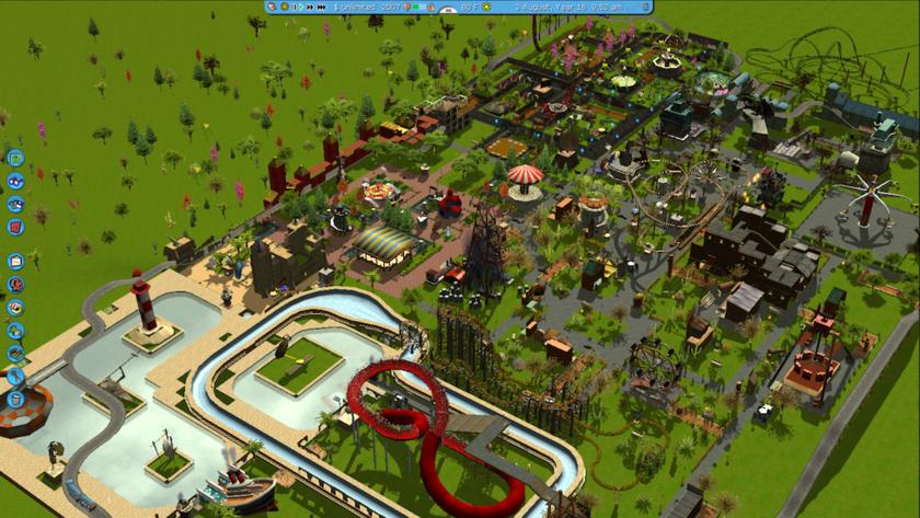 RollerCoasterTycoon 3 Platinum - Mac OS X