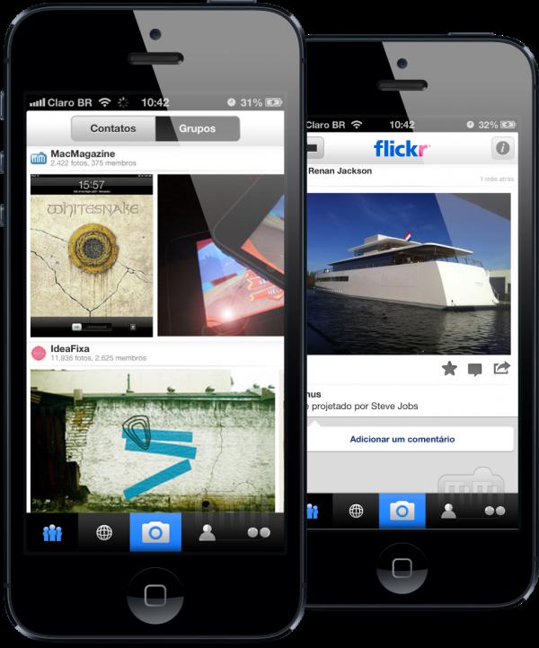 Aplicativo Flickr