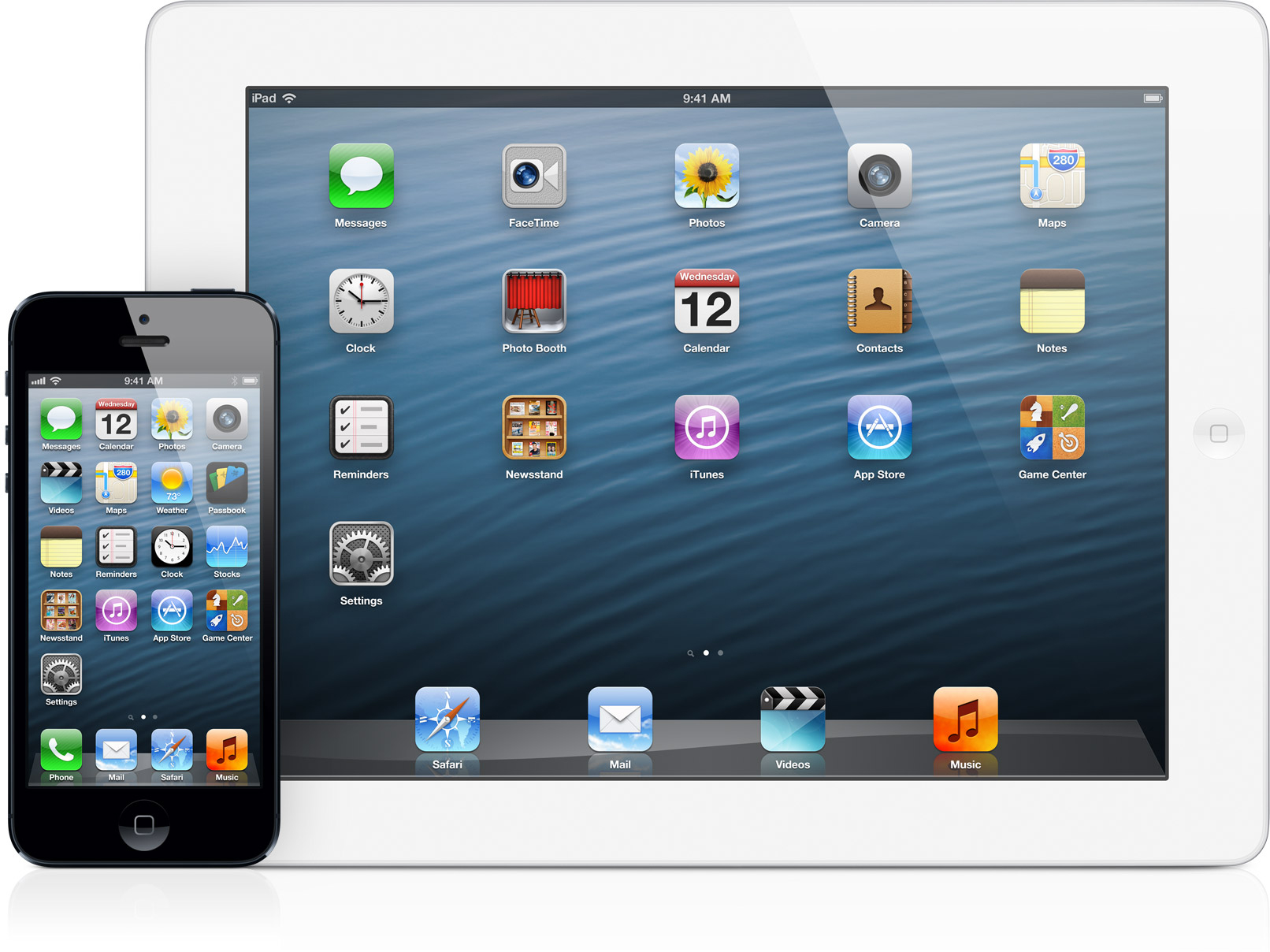 iOS 6 em iPhone 5 e iPad