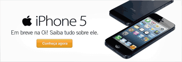 iPhone 5 na Oi