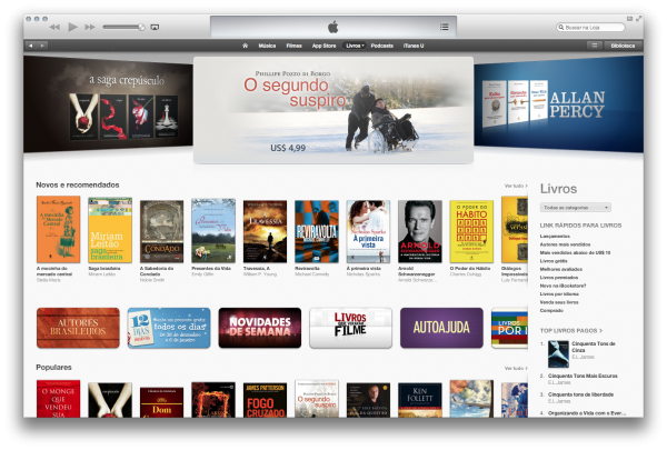 iBookstore no iTunes