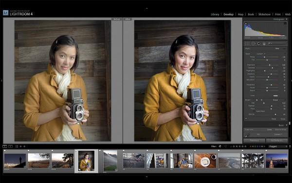 Adobe Photoshop Lightroom 4 no Mac