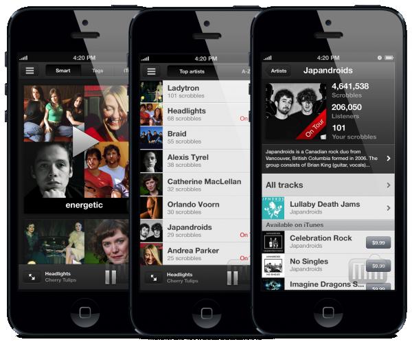 Scrobbler para iOS (iPhone)