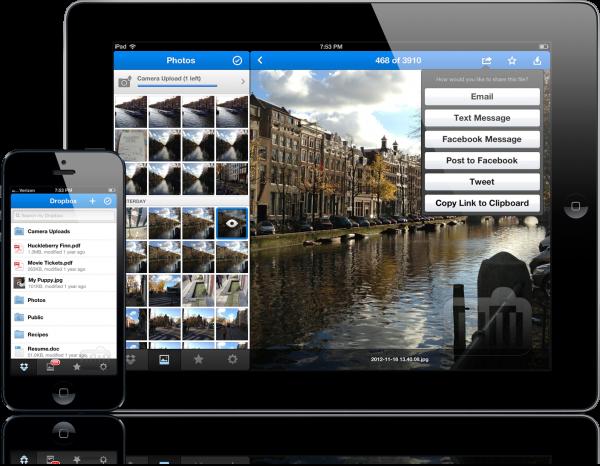Dropbox - iPad e iPhone