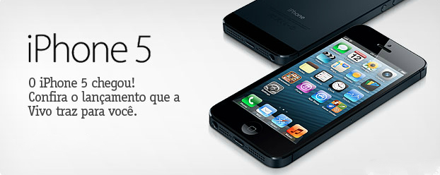 iPhone 5 na Vivo