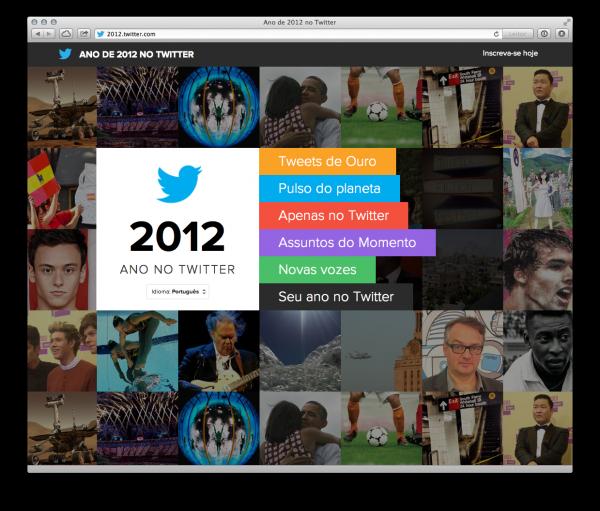 Twitter em 2012