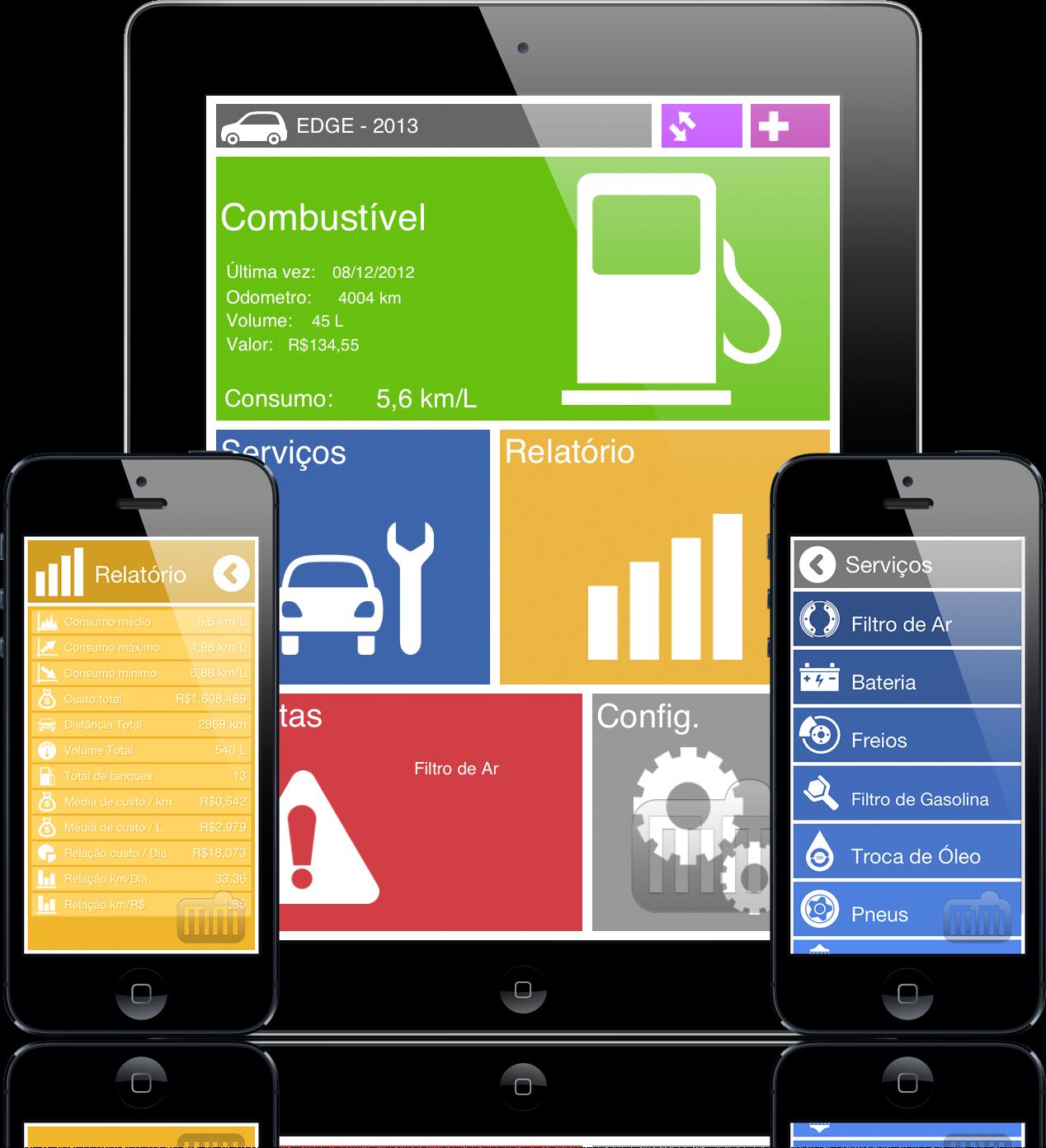 AutoCare - iPad e iPhones
