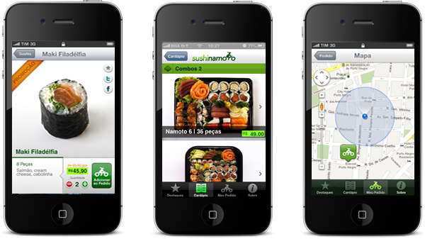 Sushi Namoto em iPhones
