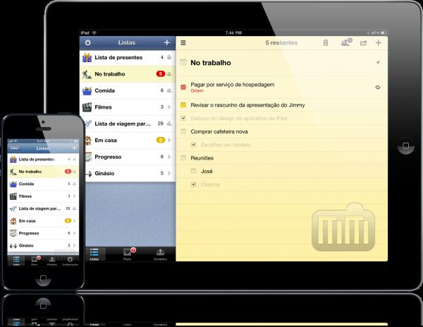 Pocket Lists - iPhone e iPad